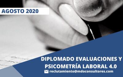 Diplomado Evaluaciones y Psicometría Laboral 4.0
